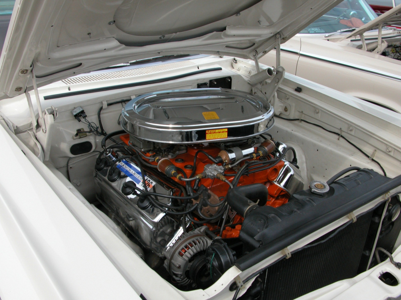 1964 Dodge 440 Hardop 426 Short Ram Drag Race Hemi Engine fvr White (2005 Dream Cruise) DSCN9267.jpg